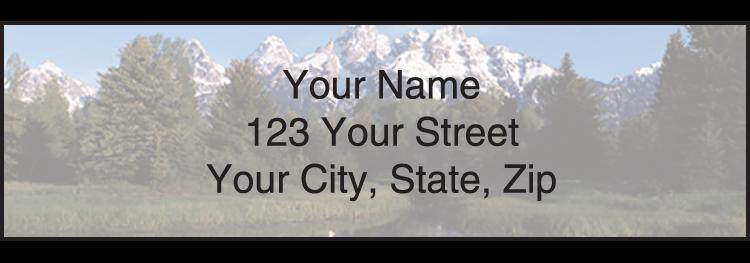 National Parks Address Labels - Set of 210