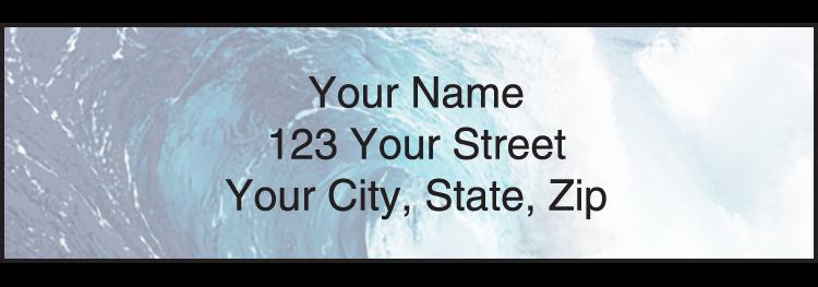 Nature's Majesty Address Labels - Set of 210
