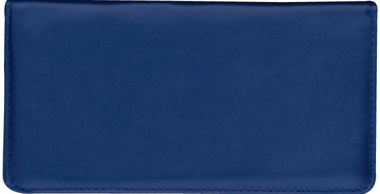 Navy Checkbook Cover