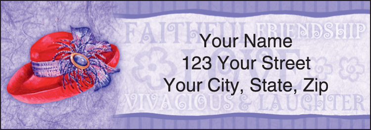 Red Hat Revue Address Labels - Set of 210