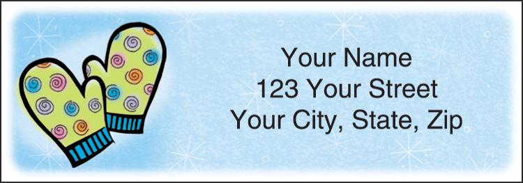 Snow Days Address Labels - Set of 210
