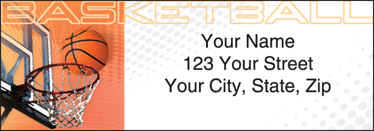 Sports Fanatic Address Labels - Set of 210