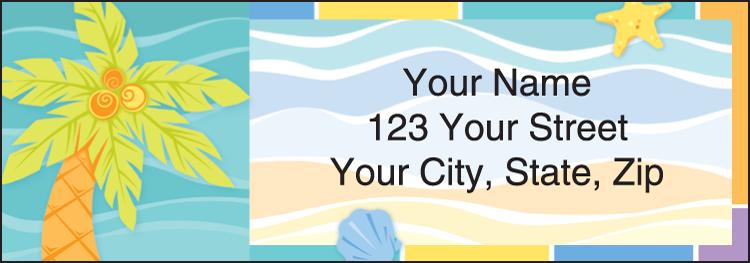 Sunny Days Address Labels - Set of 210