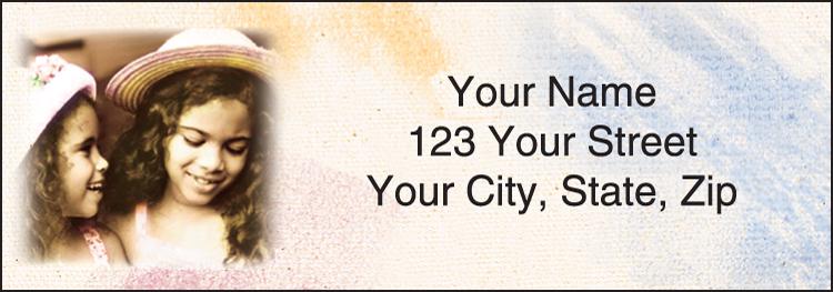Tiny Spirits Address Labels - Set of 210