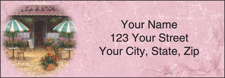 Tuscany Address Labels - Set of 210