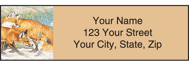 Wildlife Adventure Address Labels - Set of 210