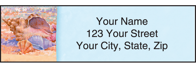 Wonders of the Sea Address Labels - Set of 210