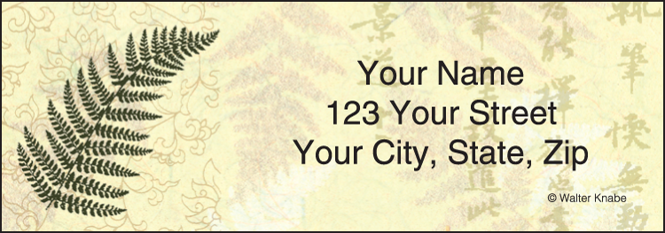 Zen Address Labels - Set of 210