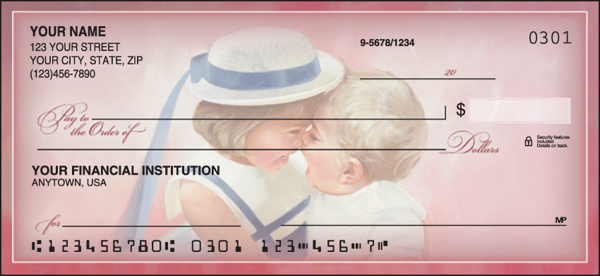Childhood Days Family Personal Checks - 1 Box - Duplicates