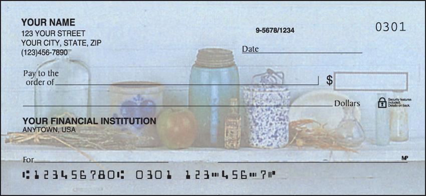 Heart & Home Inspirational Personal Checks - 1 Box - Duplicates