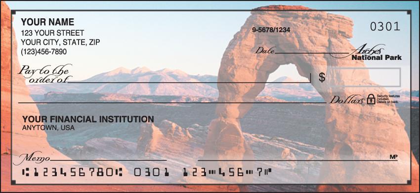National Parks Scenic Personal Checks - 1 Box - Singles