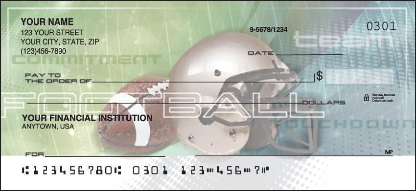 Sports Fanatic Sports Personal Checks - 1 Box