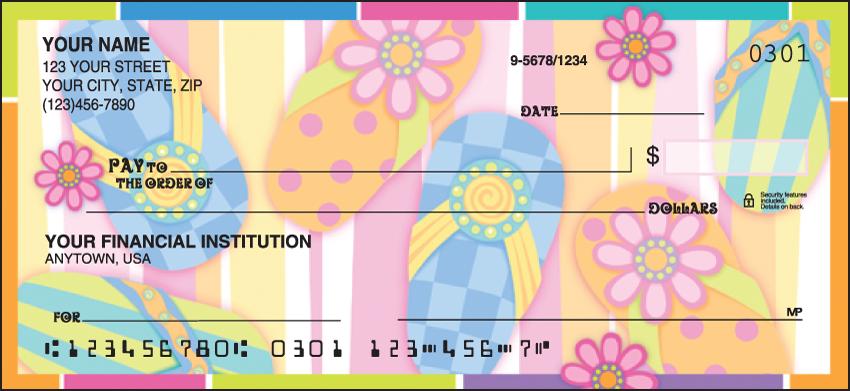 Sunny Days Scenic Personal Checks - 1 Box