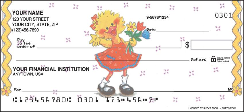 Suzy's Zoo Animal Personal Checks - 1 Box