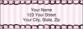 Pretty in Pink Labels - 3 - hover to see enlarged image