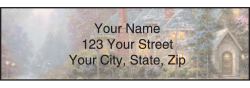 Thomas Kinkade Address Labels - click to view product detail page