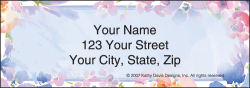 Kathy Davis Floral Address Labels