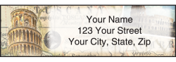 The Grand Tour Address Labels - click to view product detail page