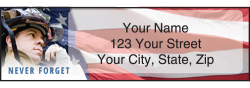 Firefighter Address Labels - click to view product detail page