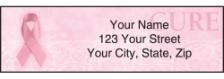 Hope for the Cure Address Labels - click to view product detail page