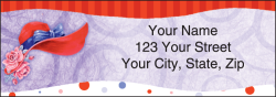 Red Hat Society Address Labels