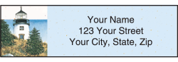 Lighthouses Address Labels - click to view product detail page