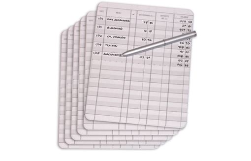 Debit Organizer Refill Pack - enlarged image