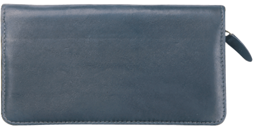 Elite Zippered Checkbook Cover - enlarged image