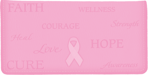 Hope for the Cure Checkbook Cover - enlarged image
