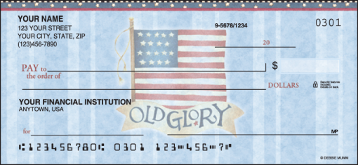 America the Beautiful Checks - enlarged image