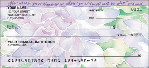 Beautiful Blessings Checks - enlarged image