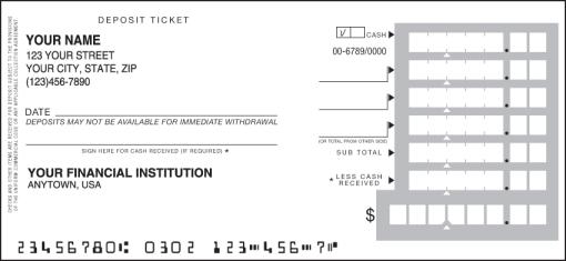 withdrawal slip template - deposit tickets order bank deposit slips
